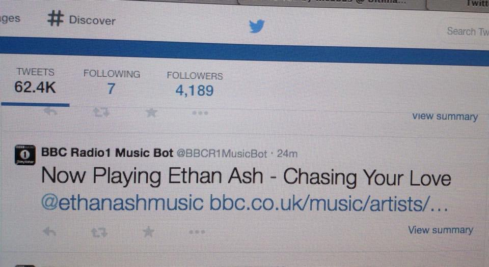 Ethan Ash Radio 1 screen shot